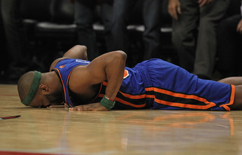 Baron Davis is unable to do a pushup.