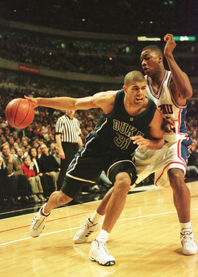 Shane Battier was a senior on the 2001 National Championship team.