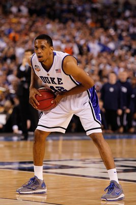 Lance Thomas was a co-captain on the 2009-10 National Championship team.