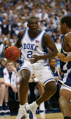 Luol Deng was one of the original one-and-done players at Duke, playing in just the 2003-04 season.