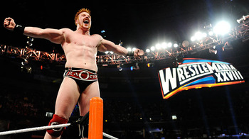 Sheamus wins the 2012 Royal Rumble.