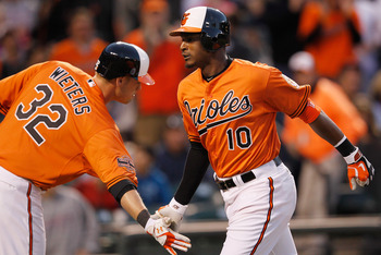 Matt Wieters and Adam Jones have solidified the Oriole lineup.