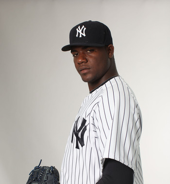Michael Pineda is trying to comeback from a shoulder injury.