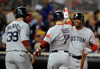Ross's play in Boston has helped ease the pain of a woeful start for the BoSox