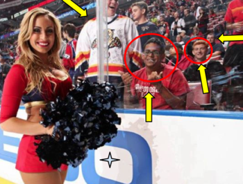Img: Facebook.com/pages/Florida-Panthers-Ice-Dancer-Danielle