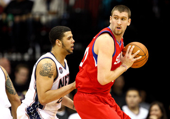 Spencer Hawes was expected to provide the 76ers with a boost but the team is still struggling.