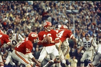 Kansas City vs Minnesota in Super Bowl IV