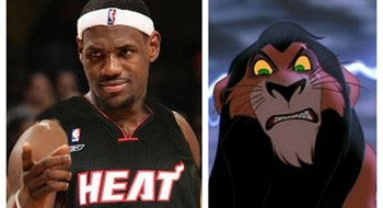 picking one disney movie that describes each nba title
