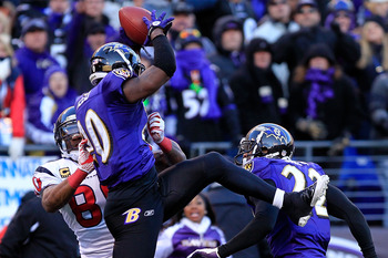 Ed Reed has a lot of interceptions just like this one.