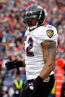 After being drafted 26th overall, Ray Lewis became the heart and soul of the Baltimore Ravens.