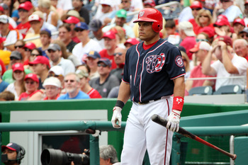 Ivan Rodriguez in one of his last uniforms.