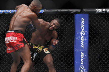 Jon Jones and Rashad Evans - Esther Lin/MMAFighting