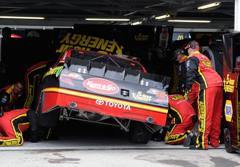 Clint Bowyer was one of many drivers to be plagued by engine failure on Sunday