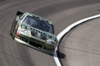 Jimmie Johnson picked up another solid finish Sunday at Kansas