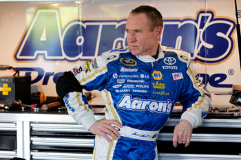 Mark Martin had a great day -- and an engine -- go bad at Kansas