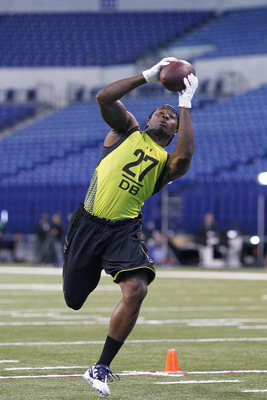 Janoris Jenkins at the 2012 NFL Combine.
