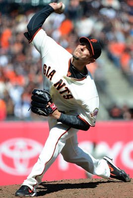 Clay Hensley has looked good in a Giants uniform