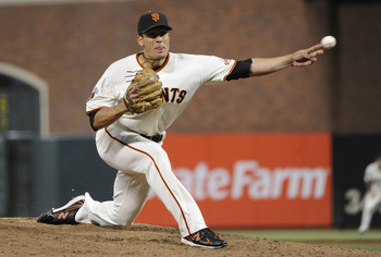 Javier Lopez is extremely tough on left-handed hitters.