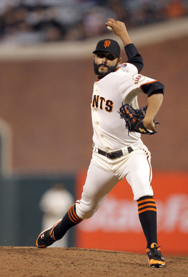 Sergio Romo was Brian Wilson's 8th-inning setup man