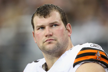 Left tackle Joe Thomas and center Alex Mack give the Browns a foundation of solid offensive line