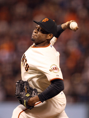 Santiago Casilla has electric &quot;stuff&quot;