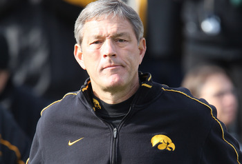 Ferentz will likely add another first round OL to his resume if OT Riley Reiff gets selected on Thursday.
