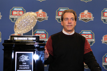 Saban is college football's premier coach at getting his players prepared for the NFL.