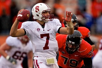 Will Brett Nottingham win the starting QB job for Stanford?