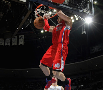 Blake Griffin getting transition points on the Nuggs.