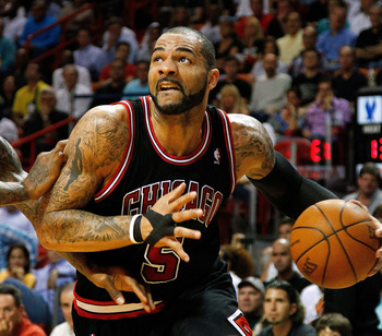 Carlos Boozer is a key part of the Bulls' quest to get back to the NBA Finals.