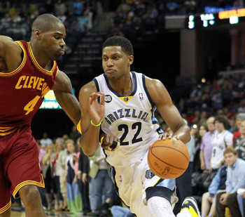 Rudy Gay is the best scoring threat on the Memphis Grizzlies.