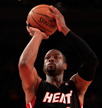 Dwyane Wade already has a ring and he's got a big contract to go along with it.