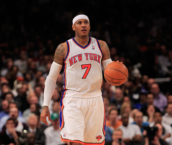 Carmelo Anthony has really upped his game under new head coach Mike Woodson.
