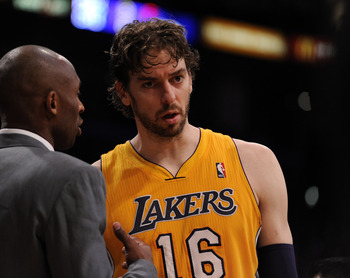 Pau Gasol is a key to the Lakers' postseason hopes for success.