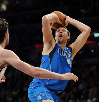 Dirk is one of the best shooters of his generation.