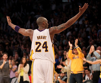 Still at the top? Kobe Bryant doesn't seem to be slowing down all that much.