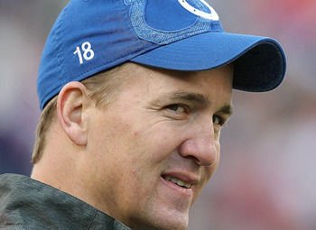 Peyton Manning established himself as a Hall-of-Fame caliber player for the Colts, and wore shoes too big for Luck to fill.