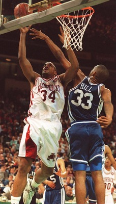 Duke lost the National Championship game to Arkansas, 76-72 in 1994.