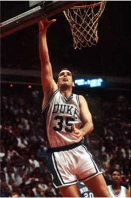 Danny Ferry carried Duke to Final Four in 1988-89.