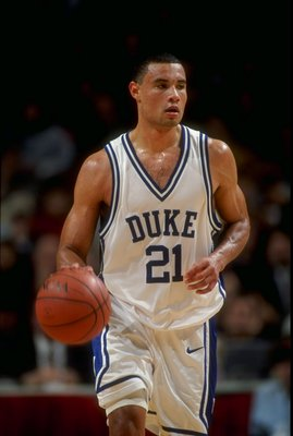Trajan Langdon scored 25 points in the 1999 national title game.