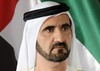 Sheikh Mohammed bin Rashid Al Maktoum (Photo via TheRichest.org)