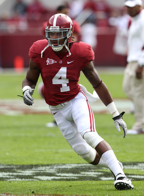The Cowboys are infatuated with Alabama safety Mark Barron.
