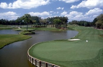 16th green at TPC Sawgrass