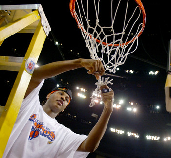 Carmelo led Syracuse to a National Title in 2003.