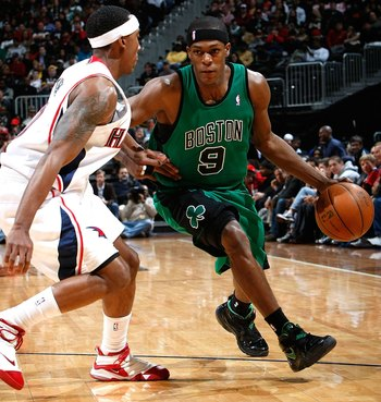 Jeff Teague will not pose any threat to Rajon Rondo.