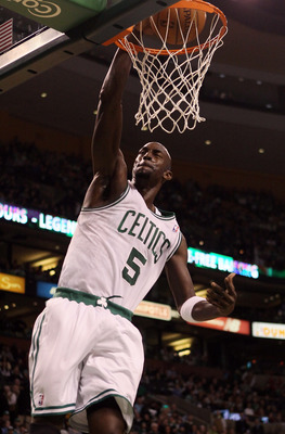 Kevin Garnett has been rejuvenated by playing center.