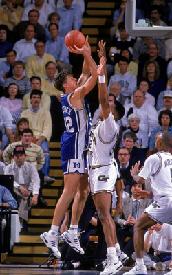 Christian Laettner and Duke fell just short of their first national championship in 1990.