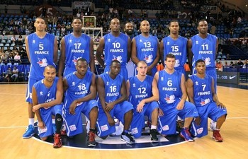The official roster for the france national team according to the fiba