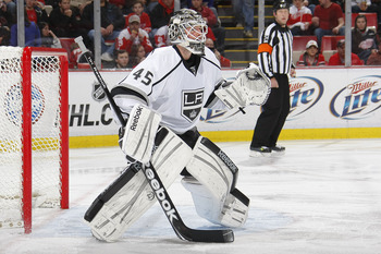 With Jonathan Quick rapidly establishing himself as the primary goaltender in Los Angeles, there is just no room for young stud Jonathan Bernier