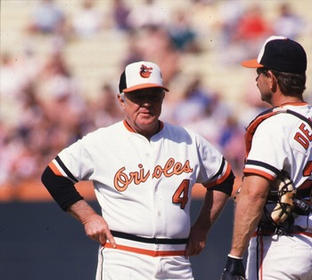 Earl Weaver is a legend in Baltimore.